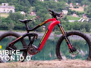 2020 Haibike FLYON NDURO 10.0 in the Alps Megavalanche