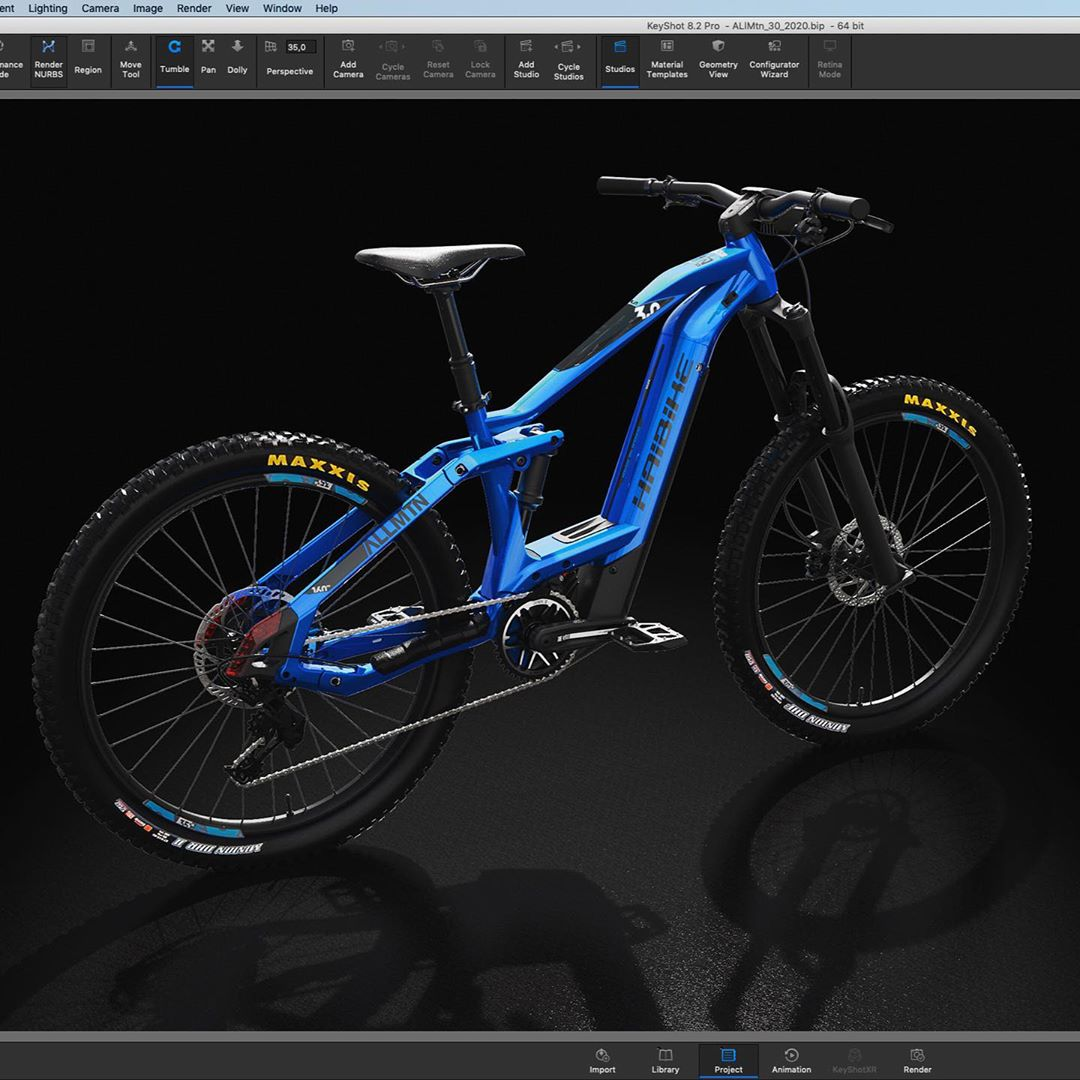 My nine your old son asked me this morning how I got into design after school and what I thought he should focus on, because he wants to design bikes when he is older. It got me thinking, because the way we design bikes today did not exist when I was a kid, so how will we be designing in another 20-30 years? Directly in VR I would imagine. Or most likely an as yet unknown evolution of that, but basic principles of design will in all likelihood be as relevant then as now. Today, there are a lot of steps to the Color, Trim and graphics process that we have been refining over the last years @hdc_m , but one of my favourites parts of the process is working directly in 3D, using nodes to explore colors, material,  finishes and graphics, something I could never have imagined when typing out basic code on an old BBC computer when I was a 9 year old kid, but certainly some of the things I learned back then such as attention to detail, focus, vision and perseverance still help me today. #design #3d #keyshot #emtb #nodes #graphics #haibike
